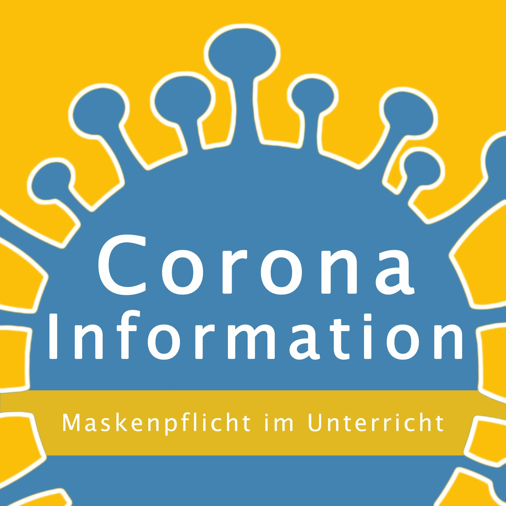 Button Info Corona neu